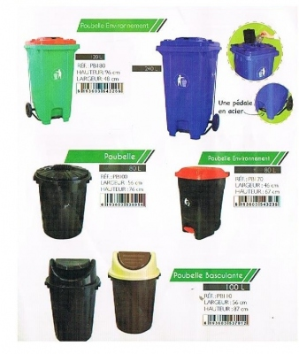 environmental plastic containers